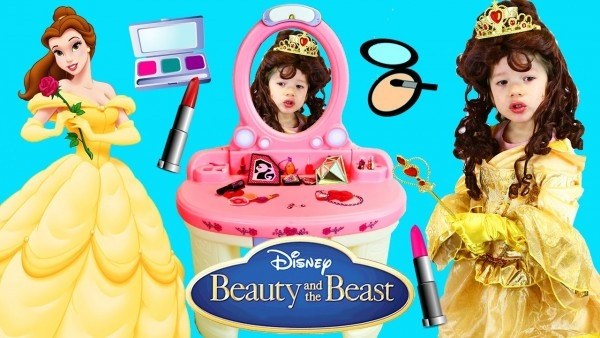 Disney Princess Makeover Of Beauty & The Beast Belle With Our