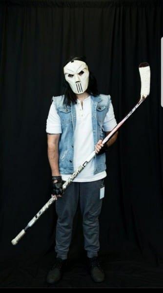My Casey Jones Halloween Costume   Tmnt