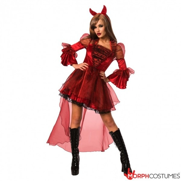 Womens Devil Costume