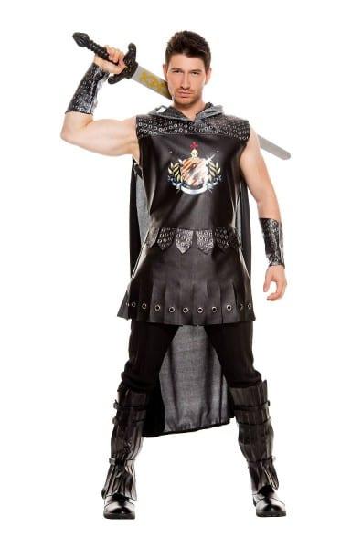 Adult Medieval Warrior King Men Costume