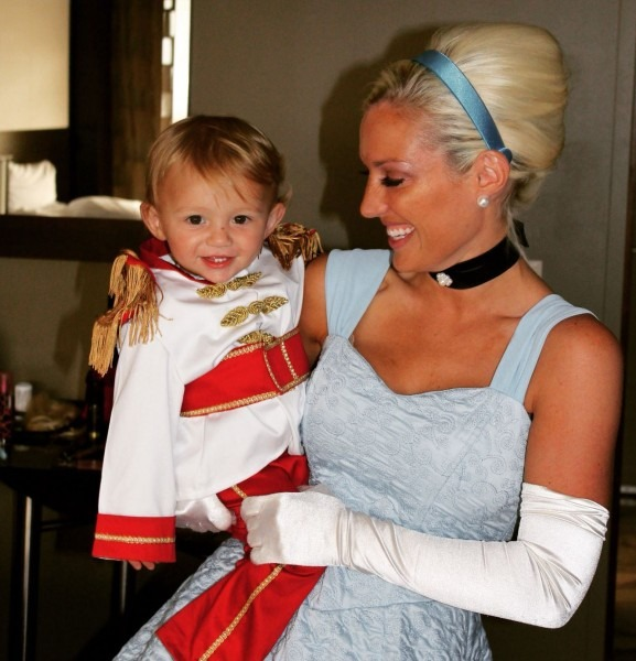 Mom And Son Disney Halloween Costumes Matching Cinderella And