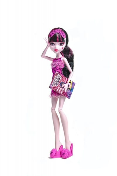 Monster High Dolls Dead Tired Series Draculaura Action Figure