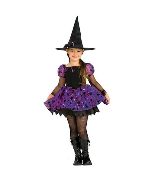 Moonlight Magic Witch Kids Halloween Costume