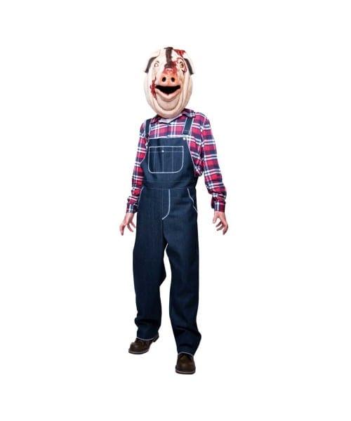 Adult Motel Hell Pig Halloween Costume