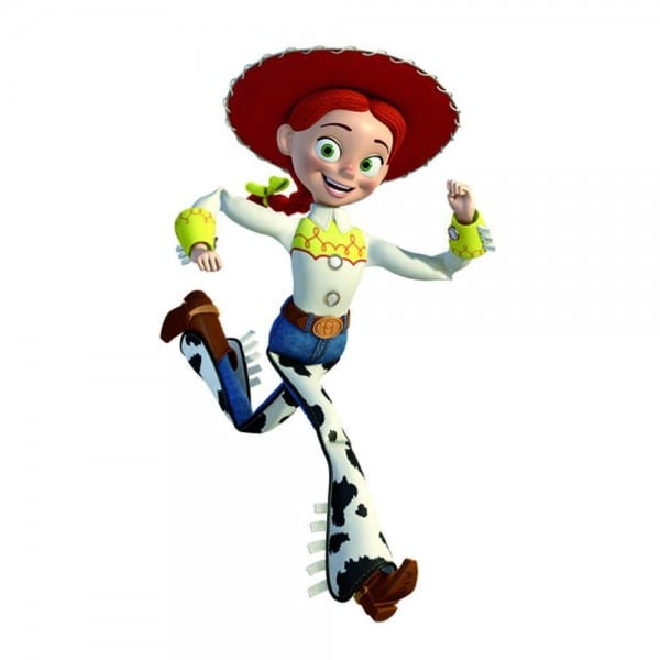 Roommates 5 In  X 19 In  Toy Story Jessie Peel And Stick Giant