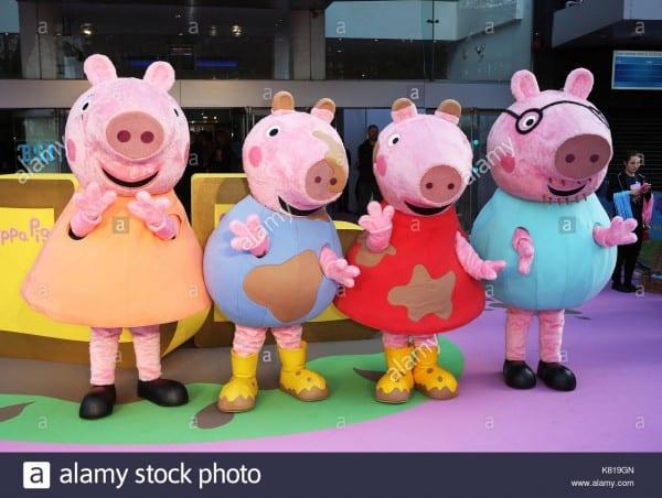 George Pig  Peppa Pig Beanie Babies Plush Doll Bundle Items Peppa