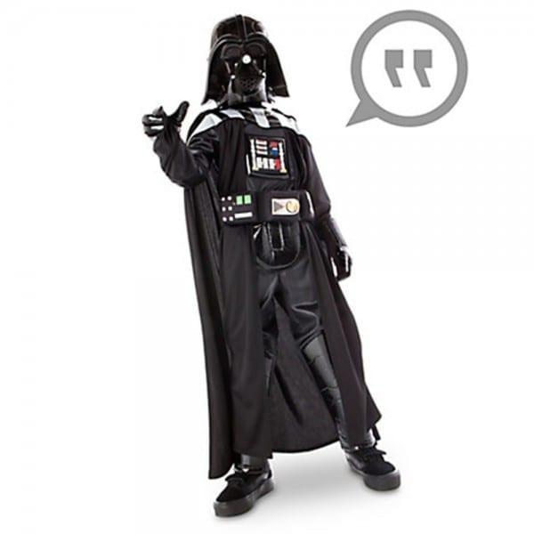 New Disney Store Boys Star Wars Darth Vader Costume With Sound Sz