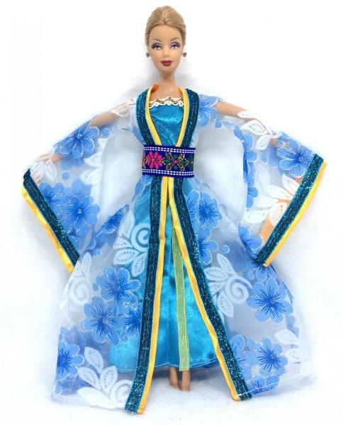 Nk One Set Moroccan Dress Princess Doll Sinicism Dress Kimono Gown