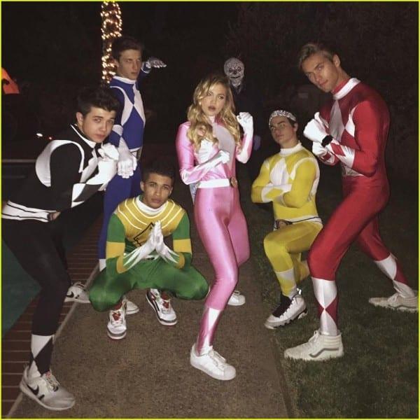Olivia Holt, Jordan Fisher & Bradley Steven Perry Dress Up As