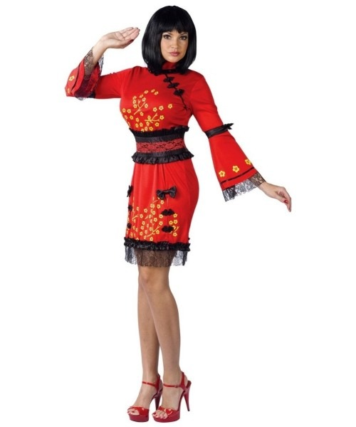 China Doll Costume For Adult