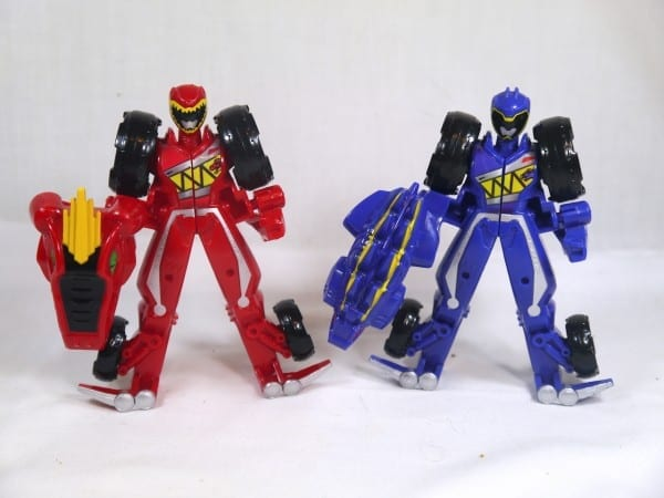 Review  Red Ranger & Blue Ranger Morphin Figures (power Rangers