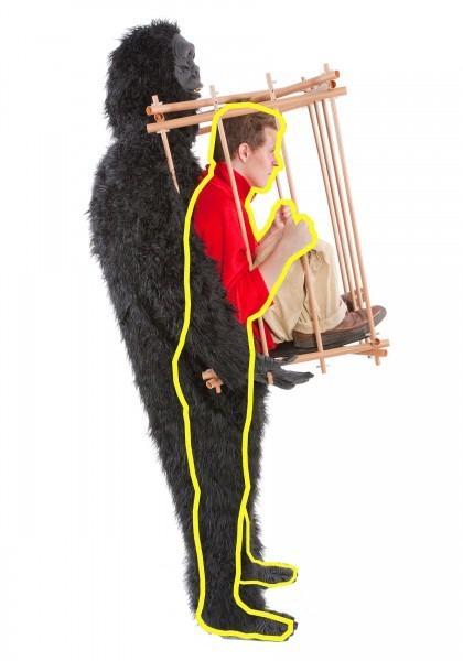 Gorilla Cage Costume Walmart