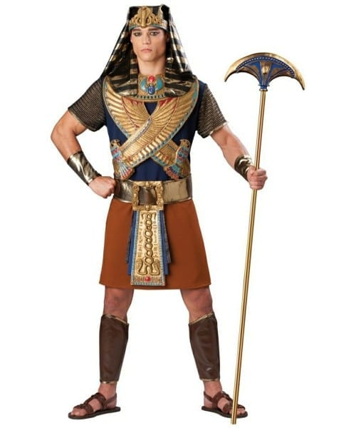 Pharaoh Mighty Adult Costume Men Egyptian Costumes, Men Egyptian