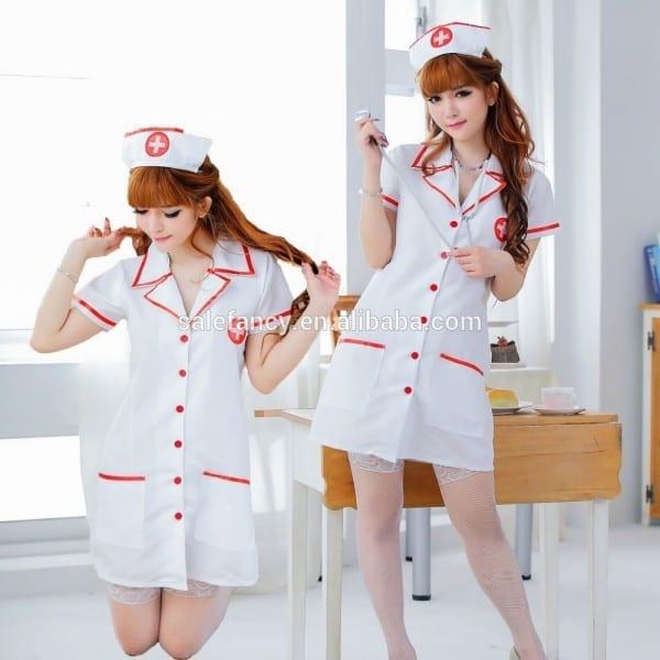 Pin Up Women Carnival Costumes Nurse Japanese Nurse Girl Costume