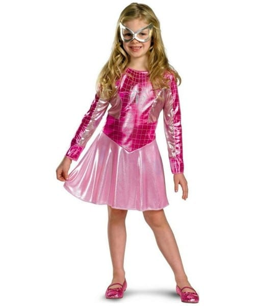 Pink Spider Girl Costume