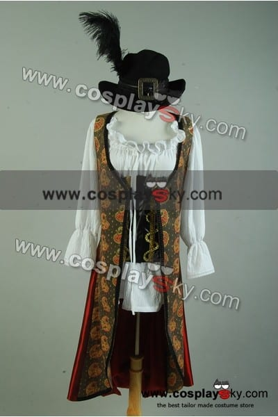 Pirates Of The Caribbean 4  On Stranger Tides Angelica Costume