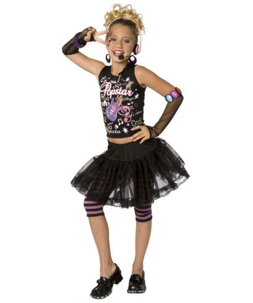 Pop Star Halloween Costume