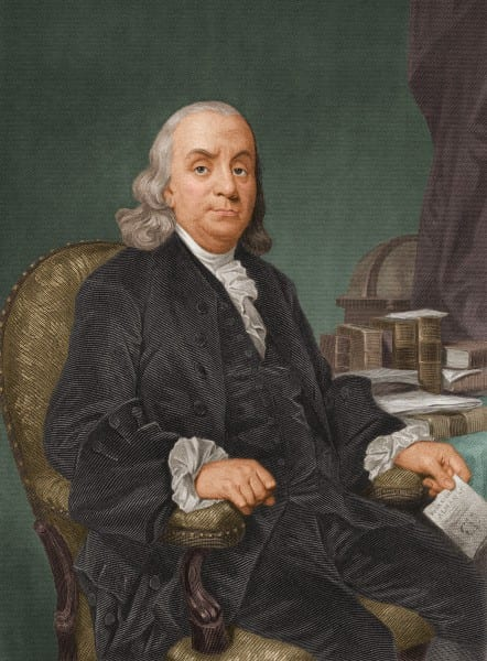 Ben Franklin And All Of His Women