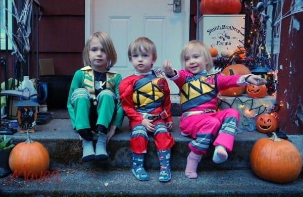 Power Rangers Costumes For Halloween!