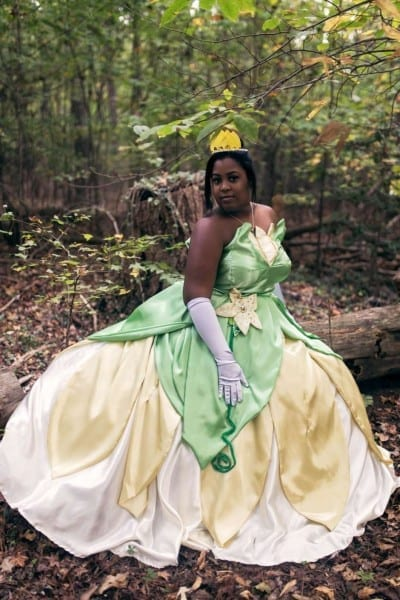 Spectacular Princess Tiana Women's Costume