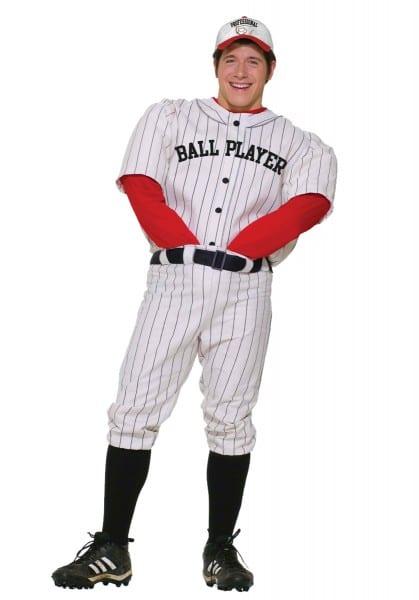 Professional Ball Player Men's Costume