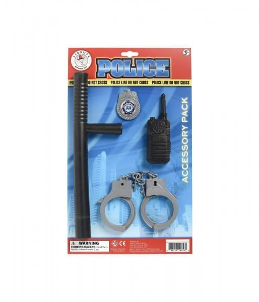 Professional Police Officer Costume Accessory Kit