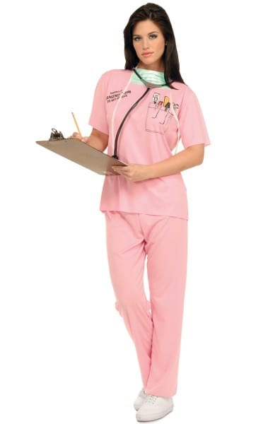 E R  Nurse Adult Costume