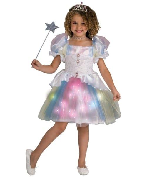 Ballerina Rainbow Kids Costume