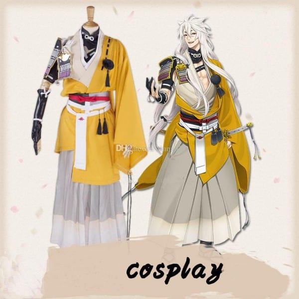 Cosplay Cos Service Three Moon Sword Clothing Flurry Munechika