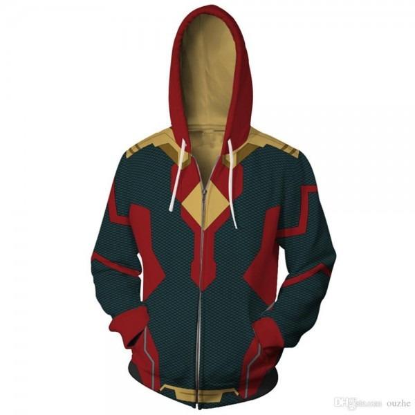 Fashion Marvel Avengers Infinity War Thor Loki Cool Jacket