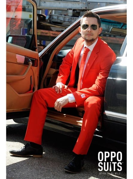 Red Devil Opposuit  Fast Delivery