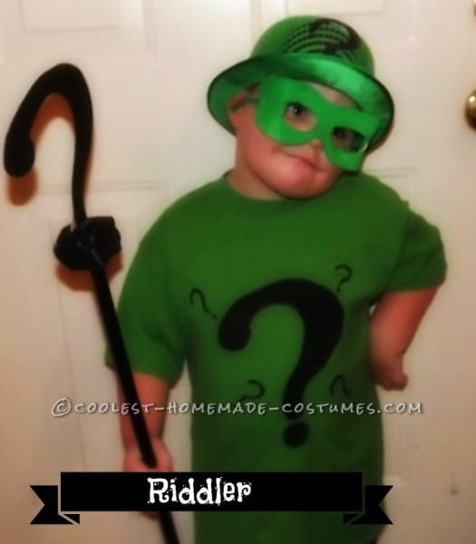 Diy Riddler Costume For 3