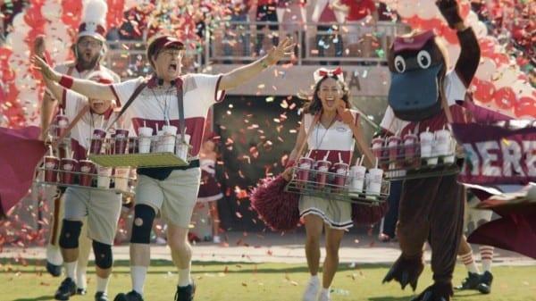 College Football Fans Don't Just Love Dr  Pepper's Larry Culpepper