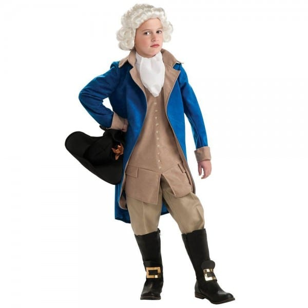 Rubie's Costumes Boys General George Washington Costume