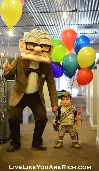 How To Make A Mr  Fredricksen Costume From The Movie 'up'