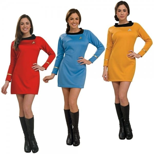 Star Trek Dress Uniform Costume Adult Tos Original Series Classic