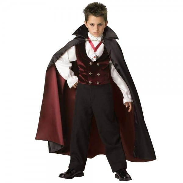Gothic Vampire Elite Collection Child Costume By Incharacter