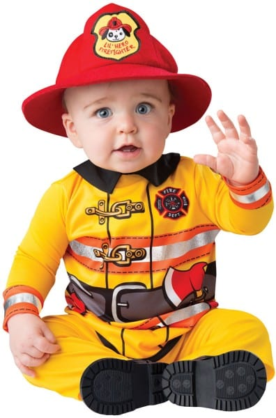 Infant Fearless Firefighter Costume Incharacter Costumes 16065