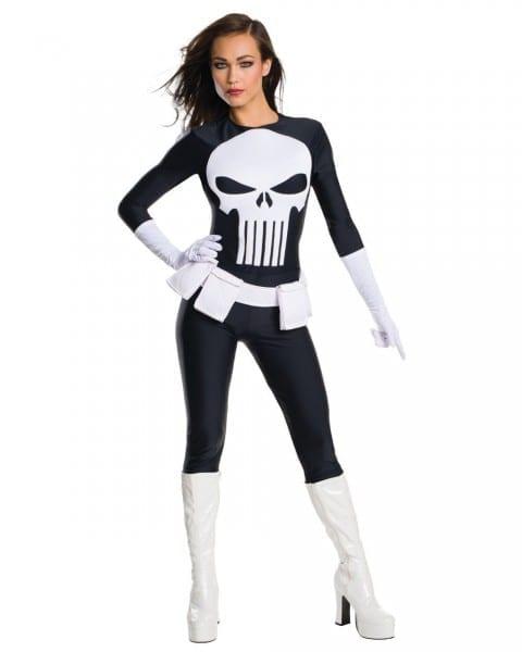 Secret Wishes Marvel Universe Punisher Adult Women's Costume