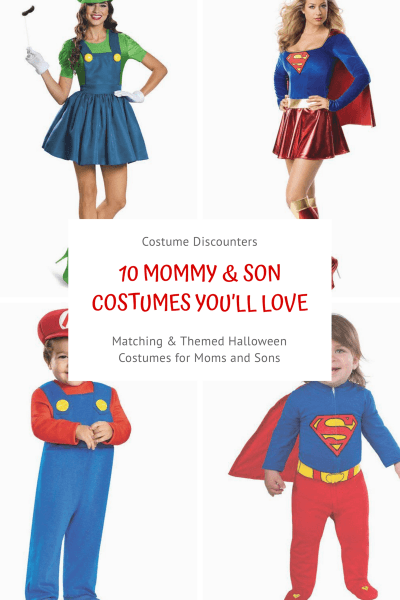 Mommy & Son Halloween Costumes You'll Love
