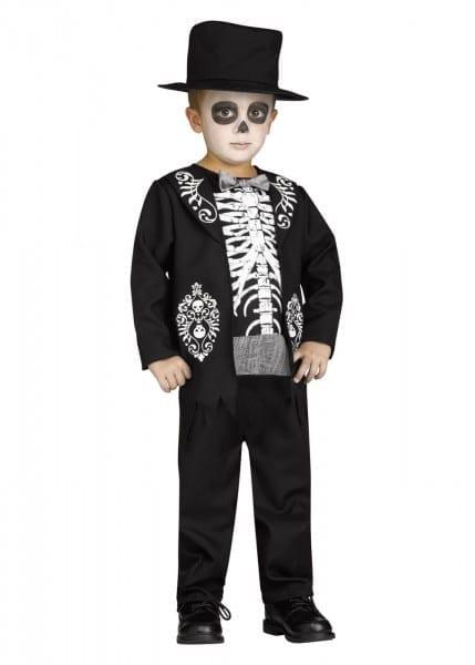 Skeleton Little Boys Costume