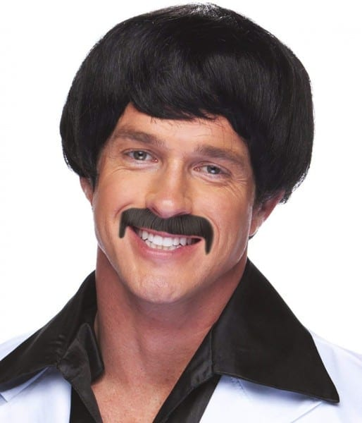 Sonny Bono Wig And Mustache Sonny Bono Costume Gomez Wig And