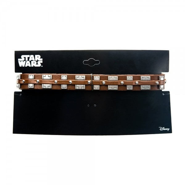 Shop Star Wars Chewbacca Bandolier Stainless Steel & Leather