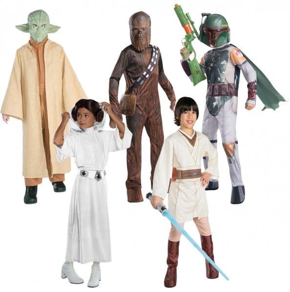 Star Wars Kids Fancy Dress World Book Day Week Character Boys