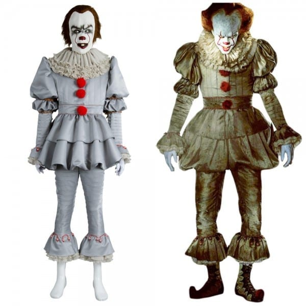 Stephen King It 2017 Movie Pennywise Cosplay Costume Halloween The