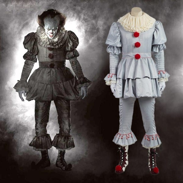 Stephen King's It Pennywise Cosplay Costume Pennywise The Clown