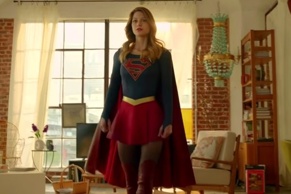Melissa Benoist Supergirl Trailer Hd