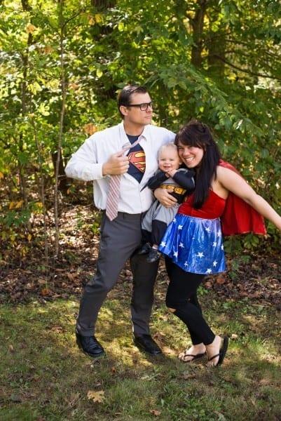 Domestic Fashionista  Superhero Family Halloween Costumes
