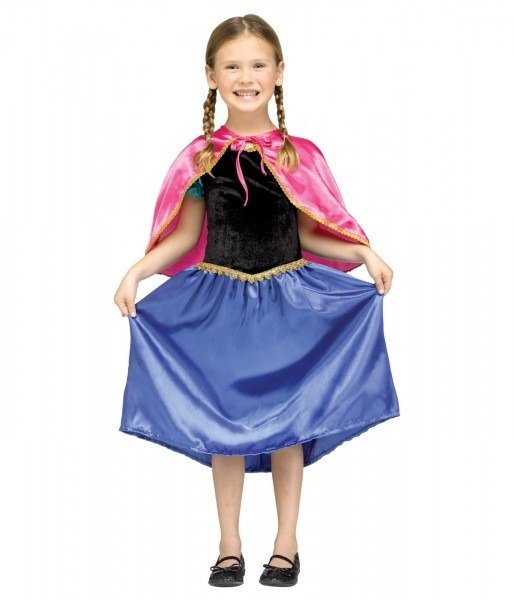 Disney Frozen Anna Inspired Girls Sweet Princess Halloween Costume