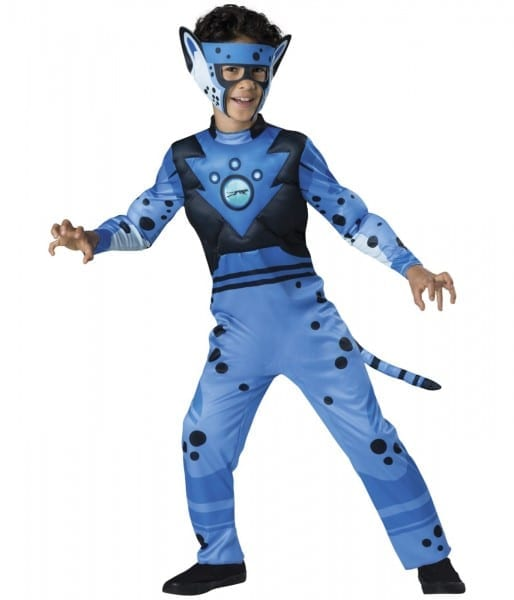 Wild Kratts Blue Cheetah Boys Pbs Television Halloween Costume